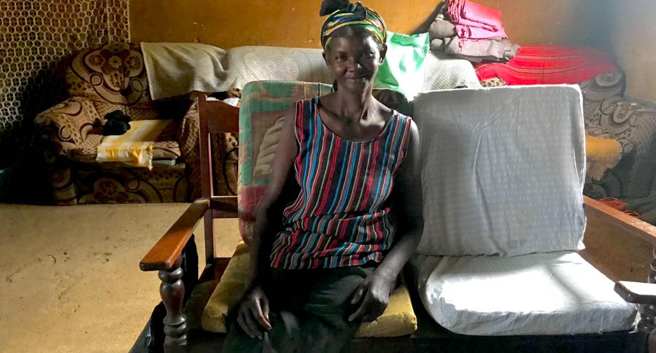 Mission Legless Woman Leads Dozens To Christ
