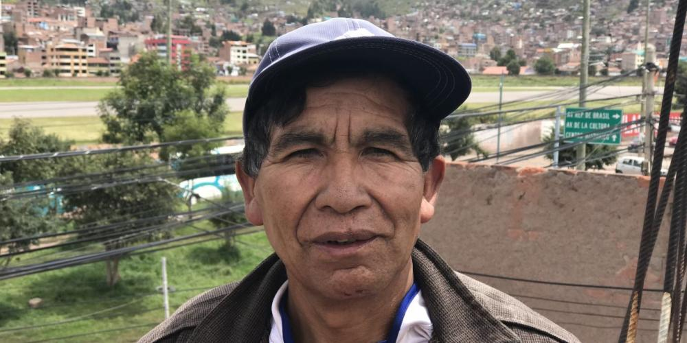 Alejandro Gonzales Qquerar, a 52-year-old farmer, has led more than 800 people to baptism since 1985. (Andrew McChesney / Adventist Mission)