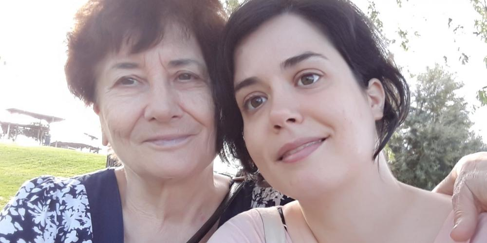 Pilar Laguardia, 73, left, with her daughter, Rebeca Ruiz Laguardia, 34. (Family photo)
