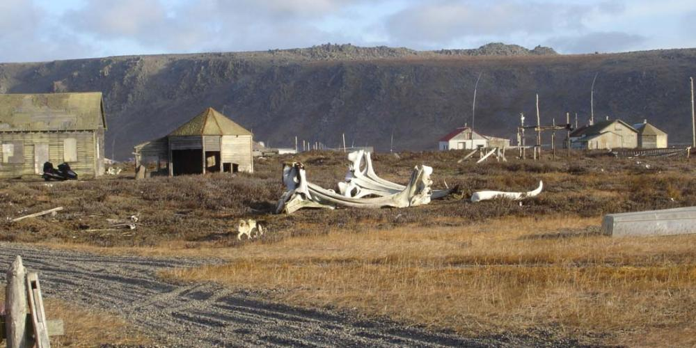 A view of Barrow, a typical community in Alaska. (Arctic Mission Adventure)