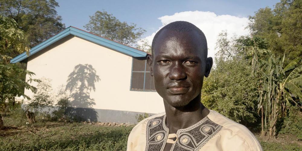 South Sudanese soldier Daniel Deng Machiek, 39, prayed for peace and had a dream about three angels. (Andrew McChesney / Adventist Mission)